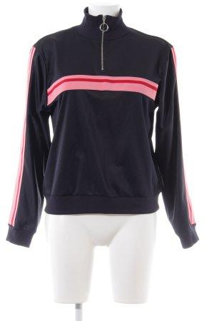 Topshop Sweatshirt Streifenmuster Casual-Look