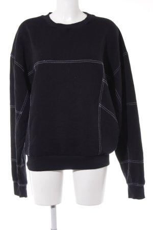Topshop Sweat Shirt black casual look