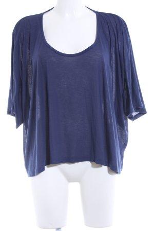 Topshop T-Shirt dunkelblau Casual-Look