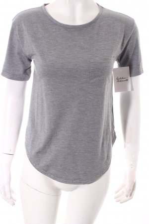 Topshop T-Shirt grau Casual-Look