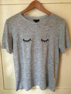 Topshop T-Shirt hellgrau