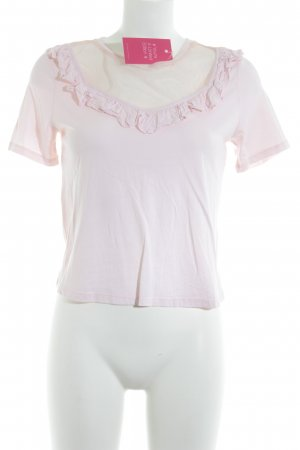 Topshop T-Shirt rosé Casual-Look