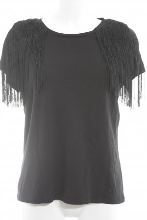 Topshop T-shirt nero stile casual
