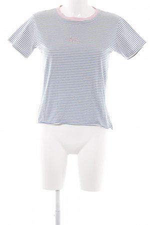 Topshop T-Shirt Streifenmuster Casual-Look