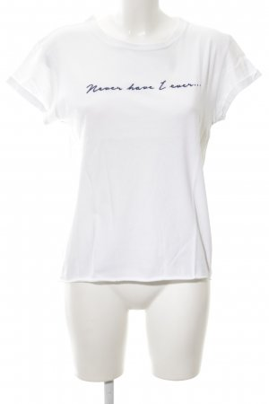 Topshop T-Shirt weiß Casual-Look