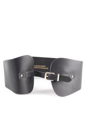 Topshop Cinturón pélvico negro estilo «business»