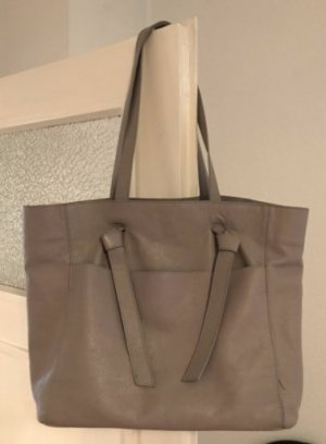 Topshop Borsa shopper marrone-grigio-grigio chiaro