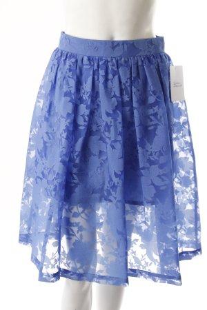 Topshop Circle Skirt blue