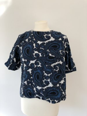 Topshop Top Paisley Muster Gr. 36