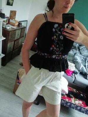 Topshop Backless Top black