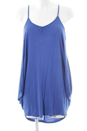 Topshop Robe à bretelles bleu style décontracté
