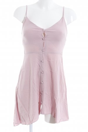Topshop Trägerkleid hellrosa Romantik-Look