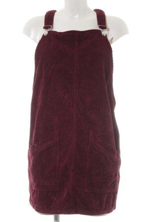 Topshop Trägerkleid purpur Casual-Look