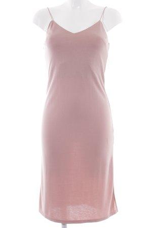 Topshop Abito scamiciato color oro rosa elegante