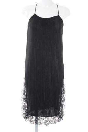 Topshop Pinafore dress black flower pattern elegant