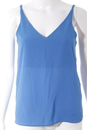 Topshop Trägertop blau Elegant