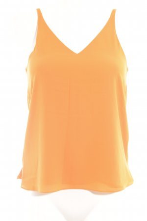 Topshop Strappy Top light orange classic style