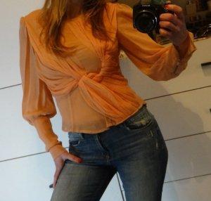Topshop Ruche blouse veelkleurig