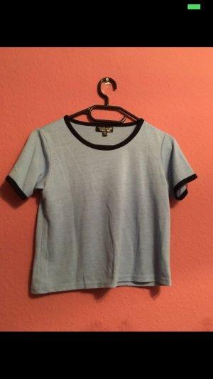 Topshop Camiseta azul celeste