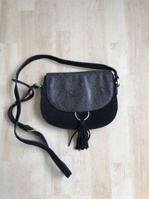 Topshop Crossbody bag black-gold-colored