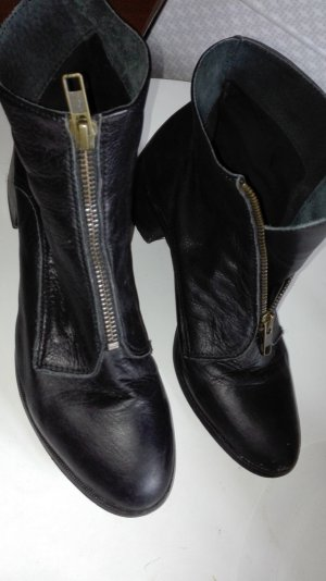 Topshop Ankle Boots black leather
