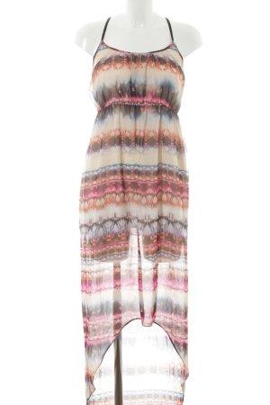 Topshop Jurk met langere achterkant batik patroon extravagante stijl