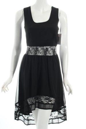 Topshop Vokuhila-Kleid schwarz Party-Look