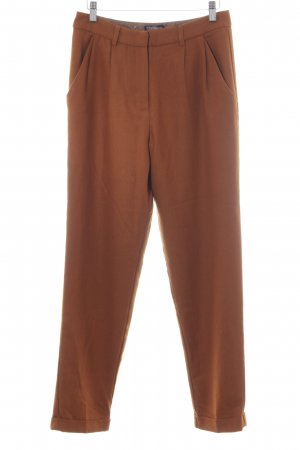 Topshop Wollhose rostrot Casual-Look