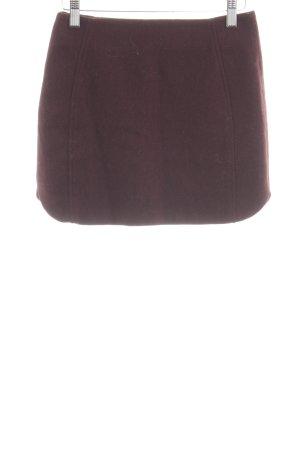 Topshop Wool Skirt brown casual look