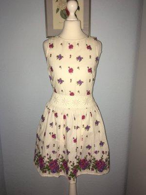 TopShop wunderschönes Baumwolle Sommerkleid Größe 34