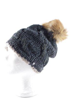 Toque Chapeau en tricot multicolore style athlétique