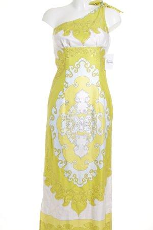 Tori Richard One-Shoulder-Kleid abstraktes Muster Beach-Look