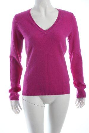 Torquato Cashmerepullover pink Casual-Look