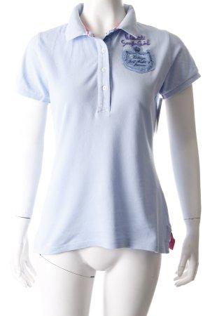 Tortuga Surf Academy Polo-Shirt hellblau