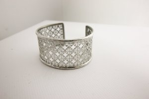 Tory Burch Brazalete color plata