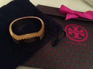 Tory Burch Armspange Fit Bit Flex 2 Gold