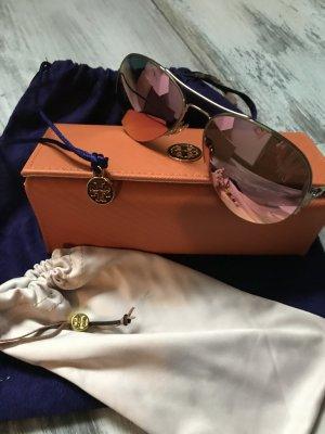 Tory Burch Aviatar Sonnenbrille Pink /Gold neu 180€