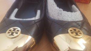 Tory Burch Ballerinas Gr.35.5 US 5.5 schwarz