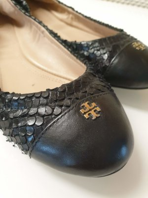Tory Burch Ballerines pliables noir