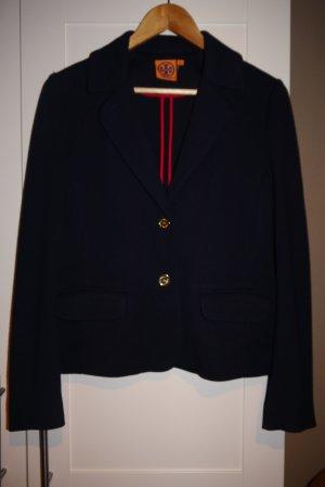 Tory Burch Blazer dunkelblau goldene Knöpfe Navy Marine M