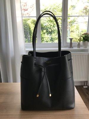 Tory Burch Block-T Bucket Tote Bag