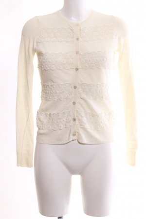 Tory Burch Cardigan creme Casual-Look
