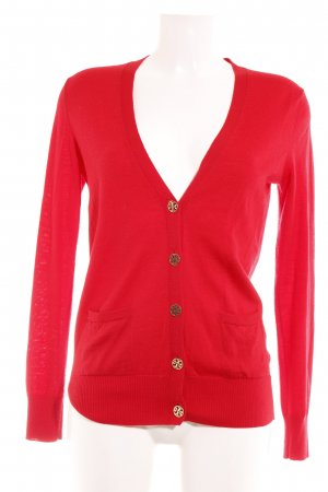 Tory Burch Cardigan rood casual uitstraling
