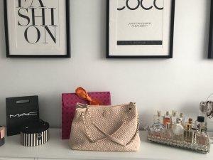 Tory Burch Crossbody Tasche rosa Beige rosa Handtasche