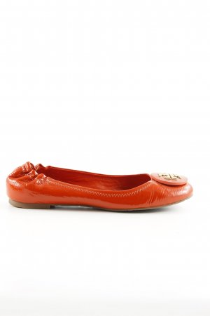 Tory Burch Foldable Ballet Flats light orange casual look