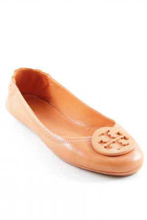 "Tory Burch faltbare Ballerinas ""Travel Logo Ballet-Nap"" orange"