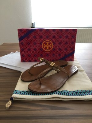 "Tory Burch - Flache Zehensandale ""Leighanne"" (NP 145 EUR)"
