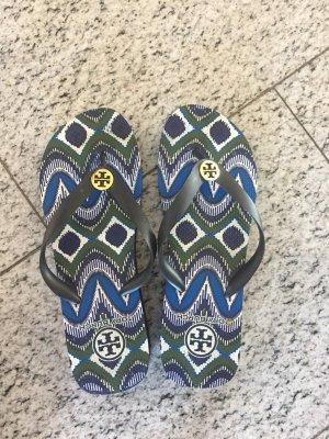 Tory Burch Flip Flops  in Blautöne