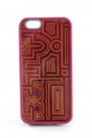 Tory Burch Mobile Phone Case purple-orange abstract pattern