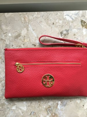 Tory Burch Sac Baril rouge brique